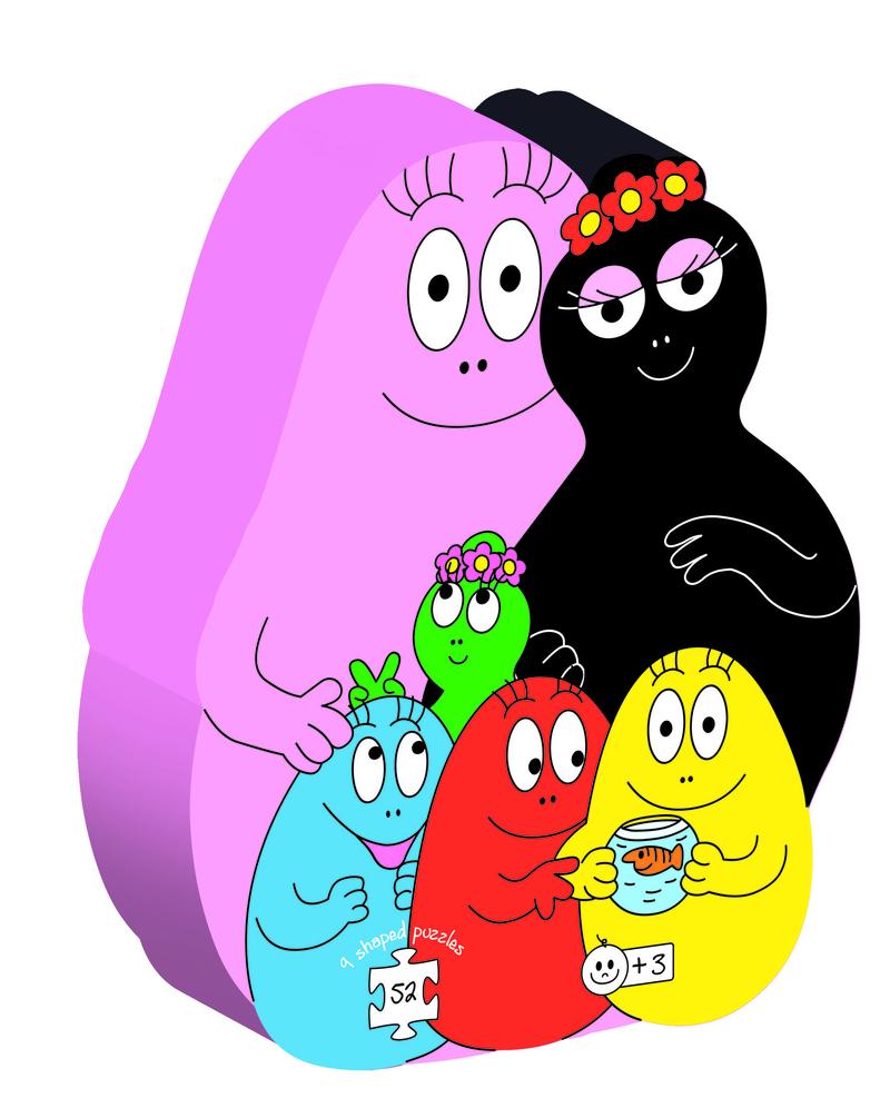 La familia Barbapapa: portada