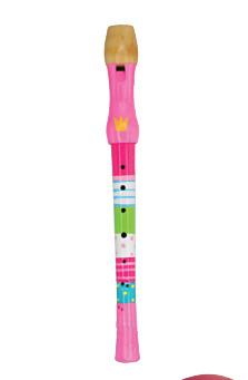 Flauta de la princesa y el guisante: portada