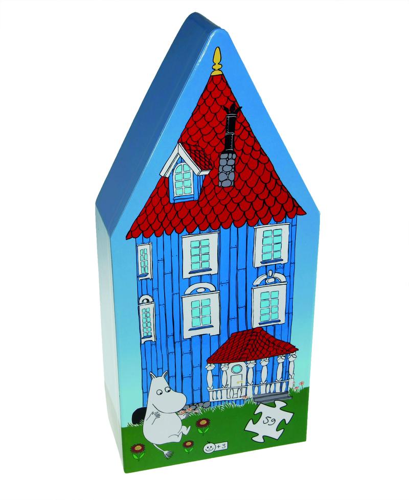 La casa de los Moomin: portada