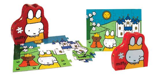 Puzzle El castillo de Miffy: portada