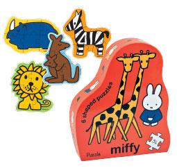 Puzzle El safari de Miffy: portada