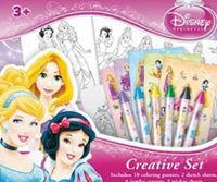 Set creativo de Princesas Disney: portada