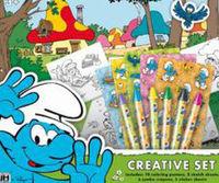 Set creativo de Los Pitufos: portada