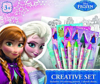 Set creativo de Frozen: portada