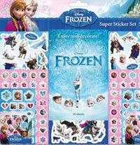 Súper set de 500 pegatinas de Frozen: portada