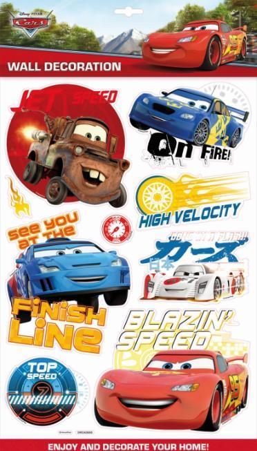 PEGATINAS DE DECORACIÓN 3D CARS: portada