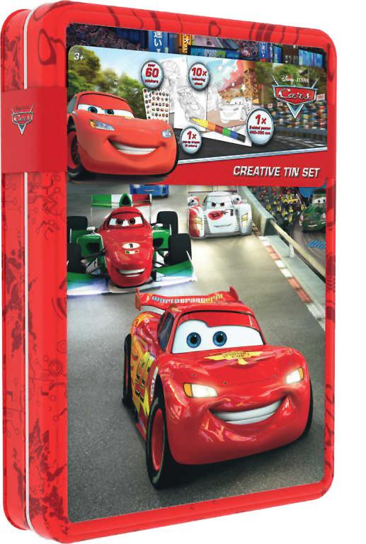 Caja creativa de Cars: portada