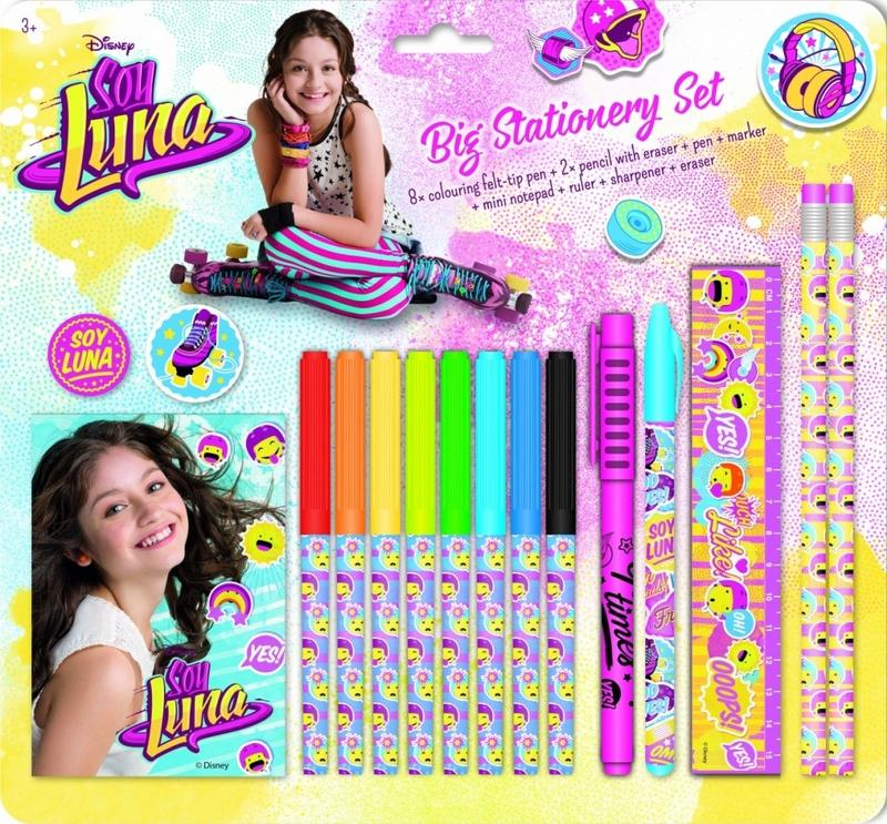 Big stationery set Soy Luna: portada
