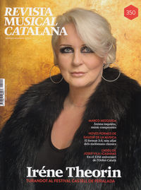 REVISTA MUSICAL CATALANA 350 - CAT: portada