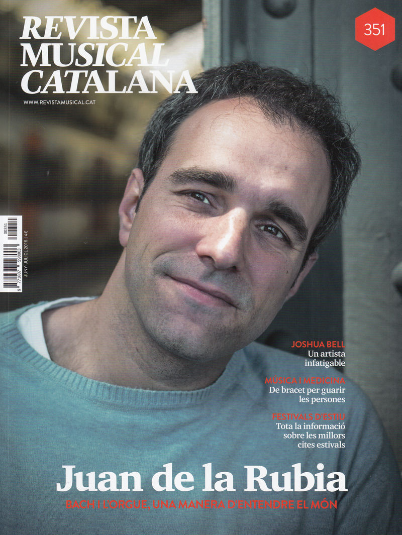 REVISTA MUSICAL CATALANA 351 - CAT: portada