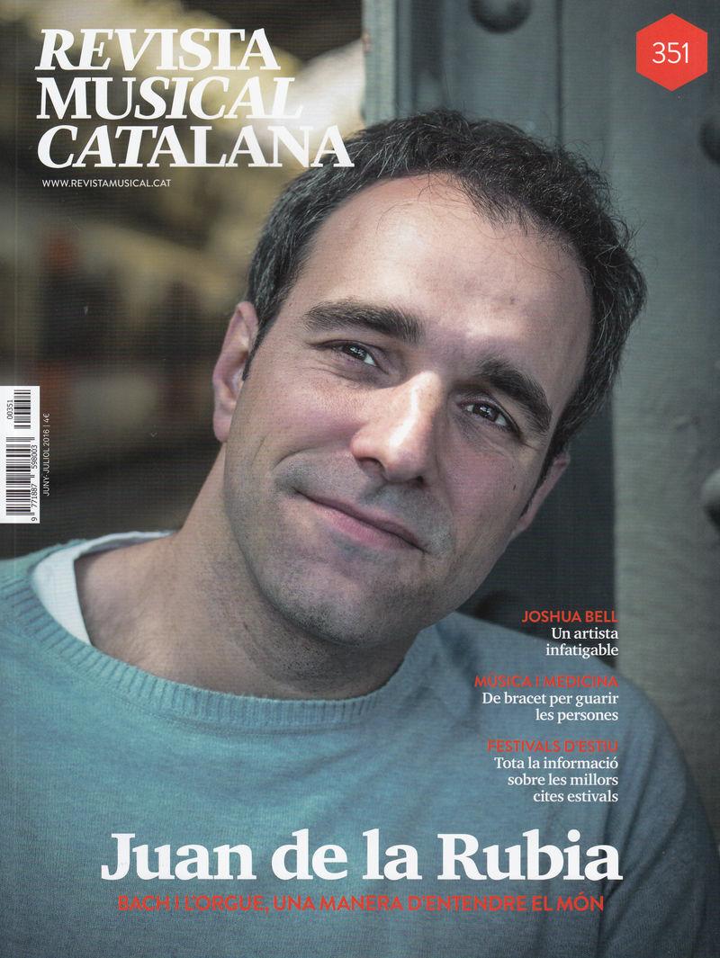 REVISTA MUSICAL CATALANA 351 - CAT: portada