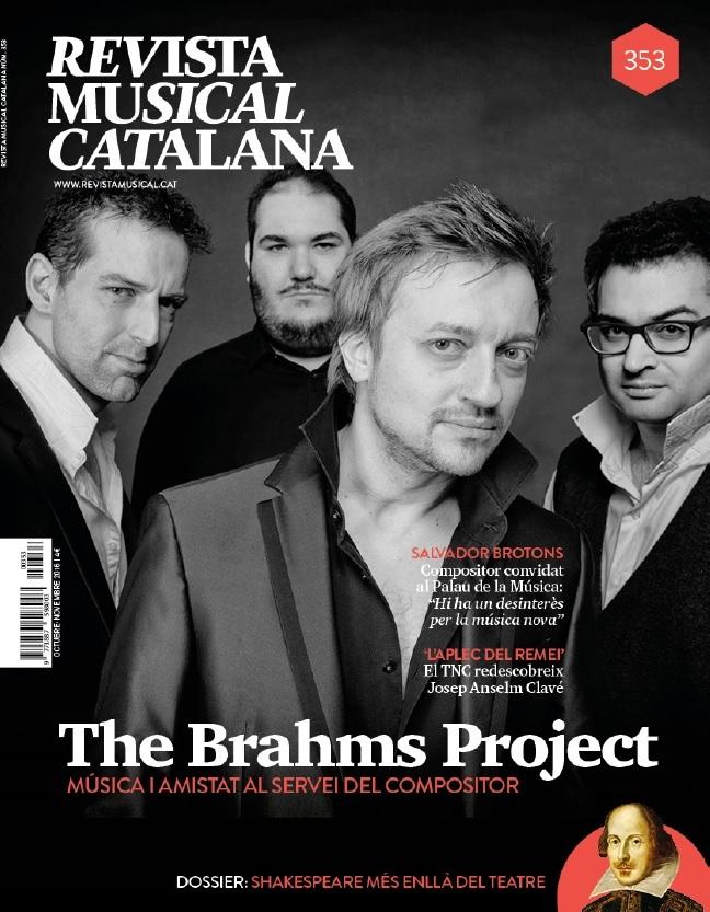 REVISTA MUSICAL CATALANA - 353: portada