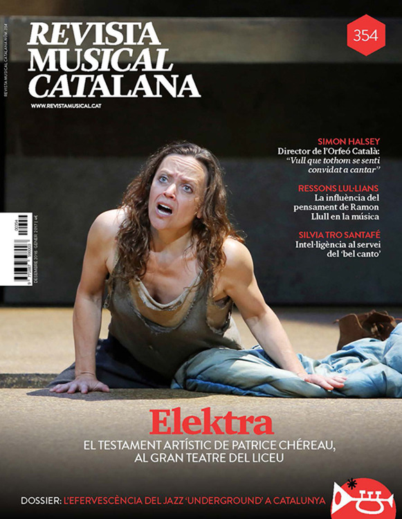 REVISTA MUSICAL CATALANA 354 - CAT: portada