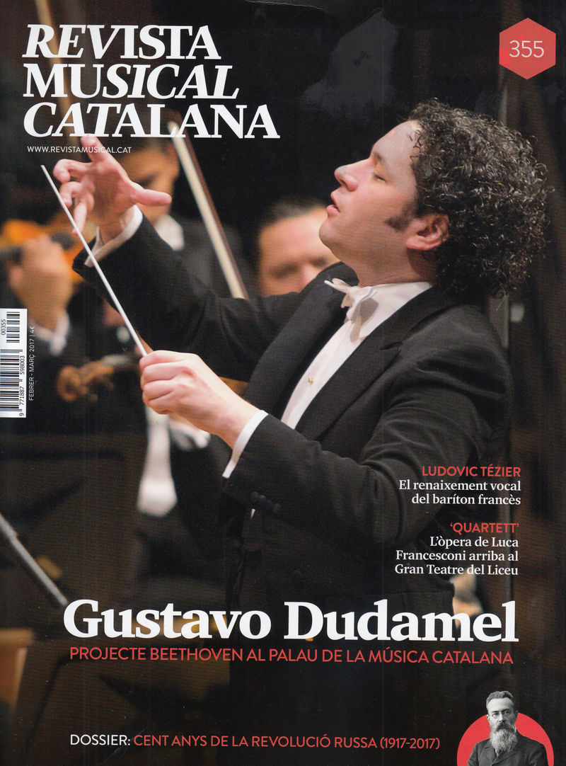 REVISTA MUSICAL CATALANA 355 - CAT: portada