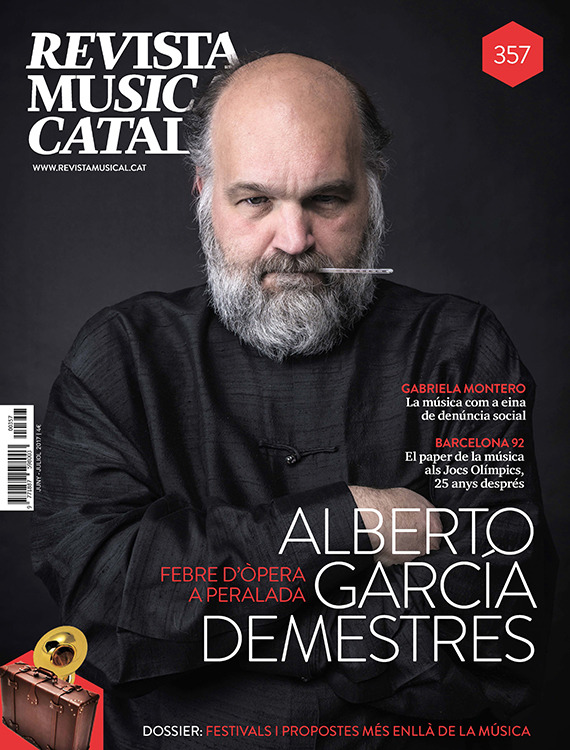 REVISTA MUSICAL CATALANA - 357: portada