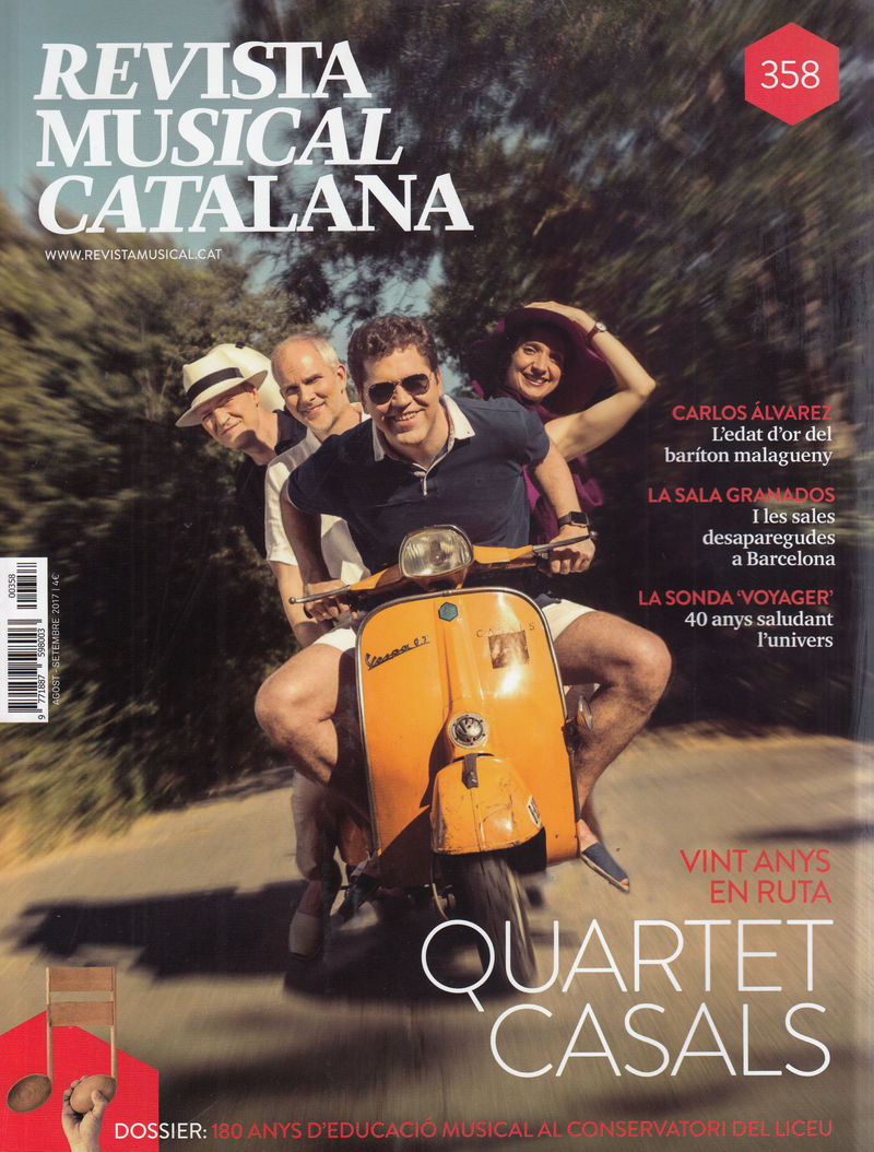 REVISTA MUSICAL CATALANA 358 - CAT: portada