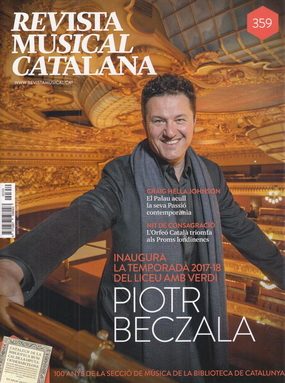 REVISTA MUSICAL CATALANA 359 - CAT: portada
