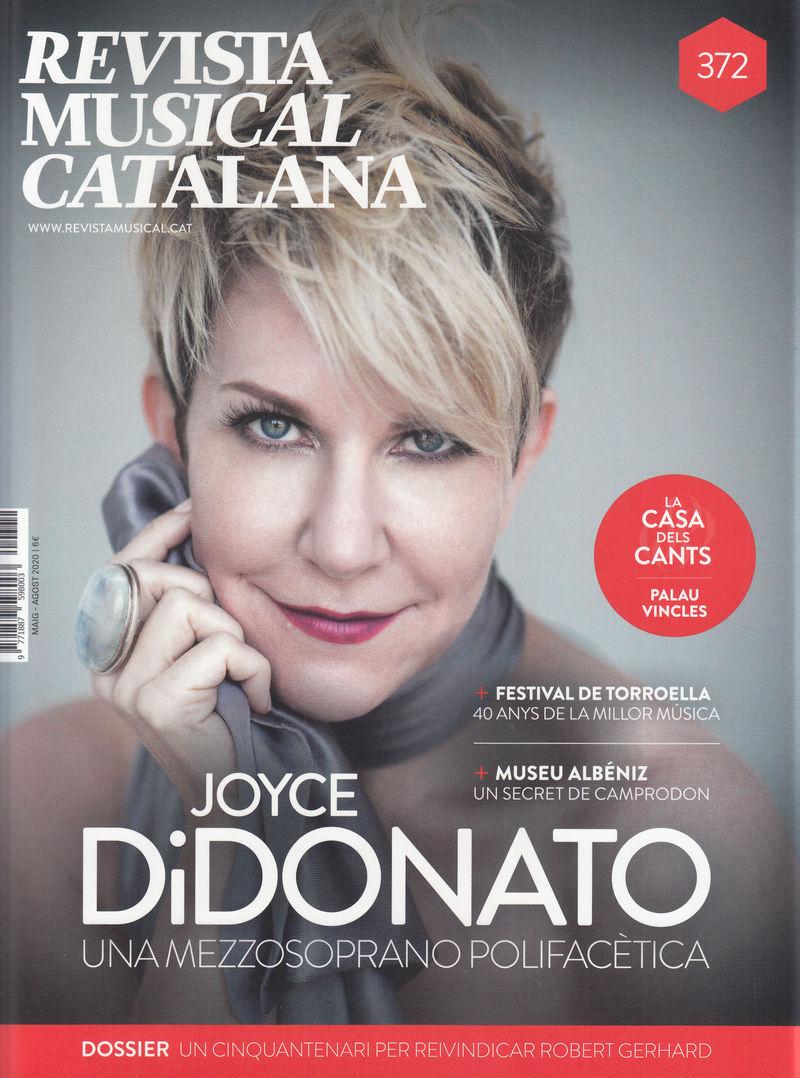 REVISTA MUSICAL CATALANA 372 - CAT: portada