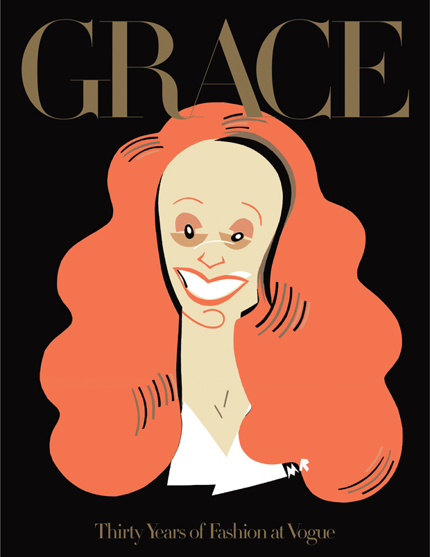 GRACE - THIRTY YEARS OF FASHION AT VOGUE: portada