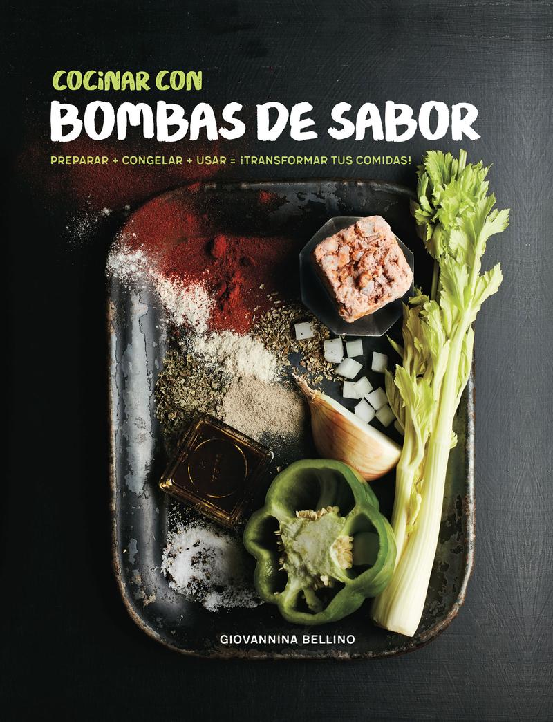 Cocinar con bombas de sabor: portada