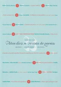 REVISTA DE POESIA AñOS DIEZ Nº 2: portada