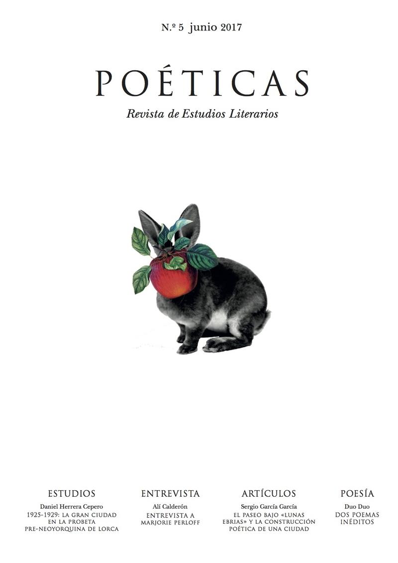 REVISTA POETICAS 5: portada