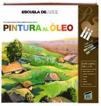Escuela de arte Pintura al óleo: portada