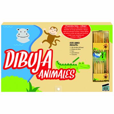 Dibuja Animales: portada