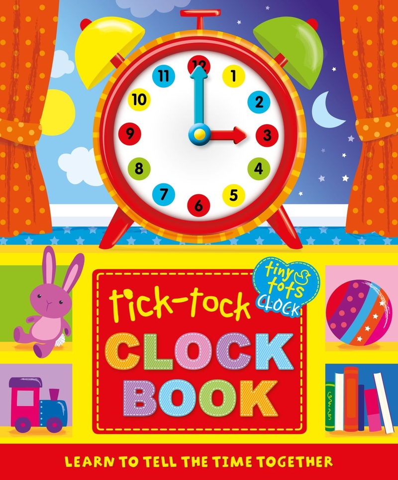 Tick-Tock Clock Book: portada