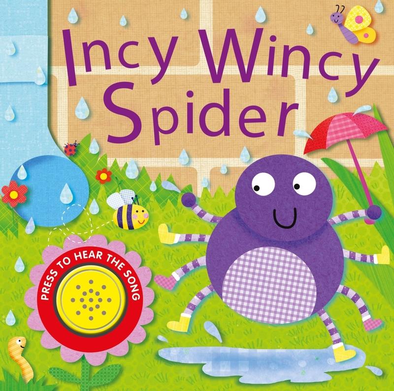 Incy Wincy Spider: portada
