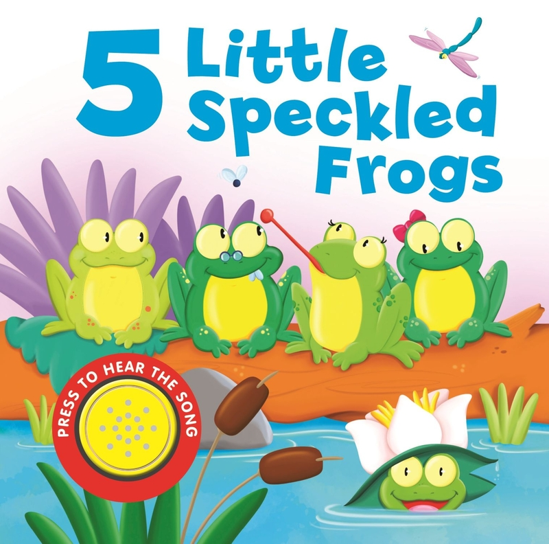 5 Little Speckled Frogs: portada