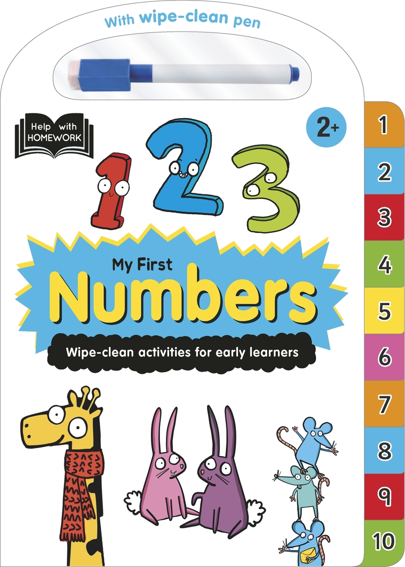 Help With Homework: My First Numbers: portada