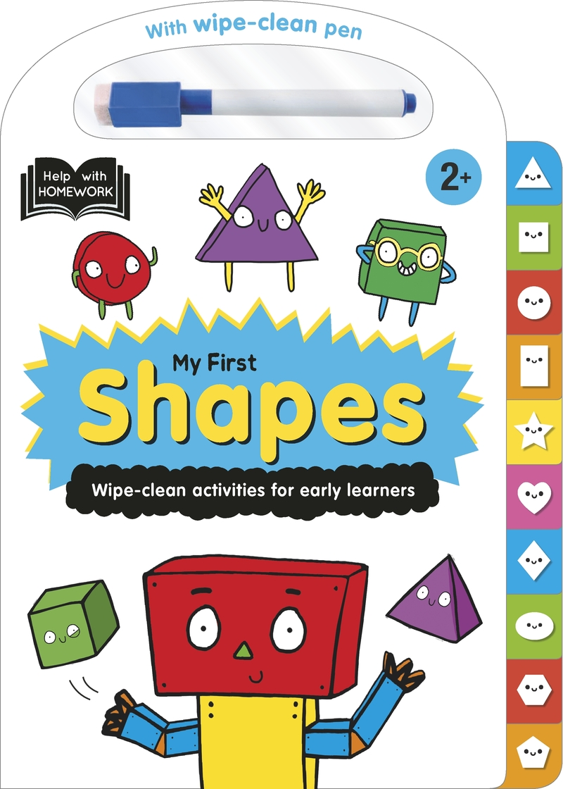 Help With Homework: My First Shapes: portada