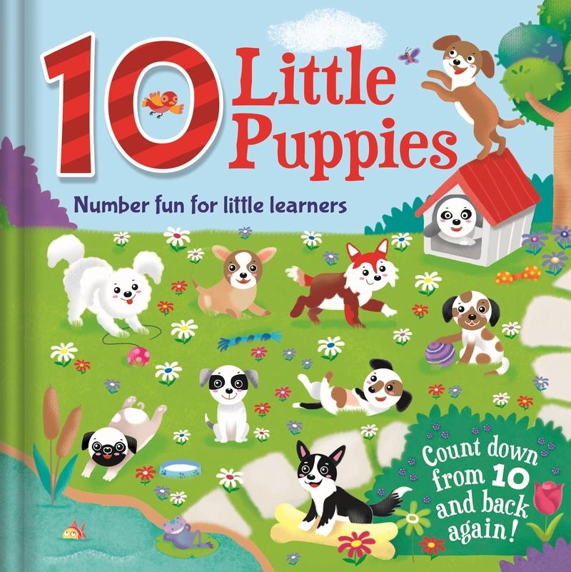 10 Little Puppies: portada