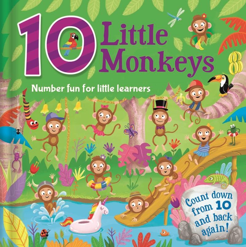 10 Little Monkeys: portada