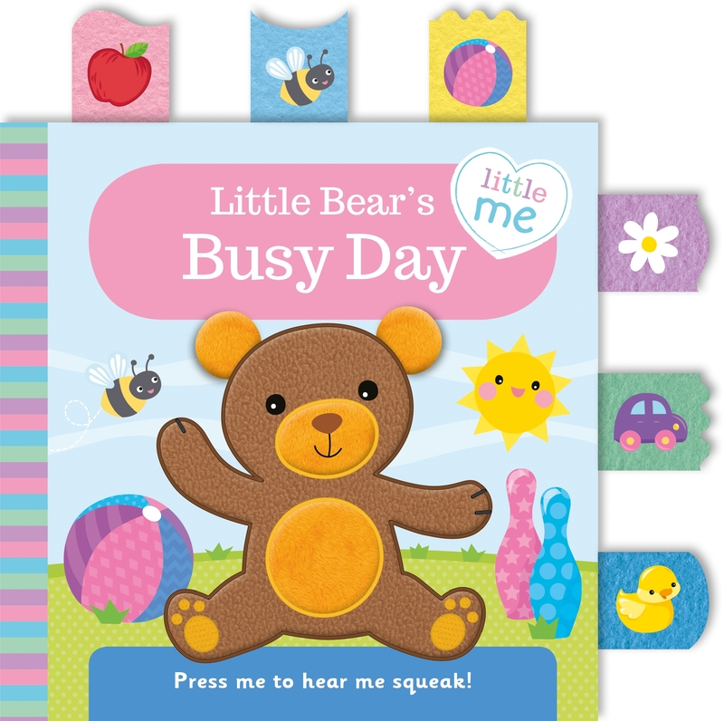 Little Bear's Busy Day  (Cloth Book): portada