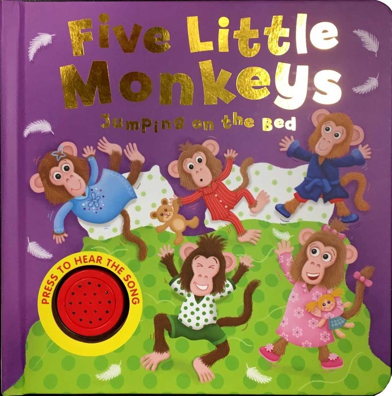 Five little Monkeys: portada
