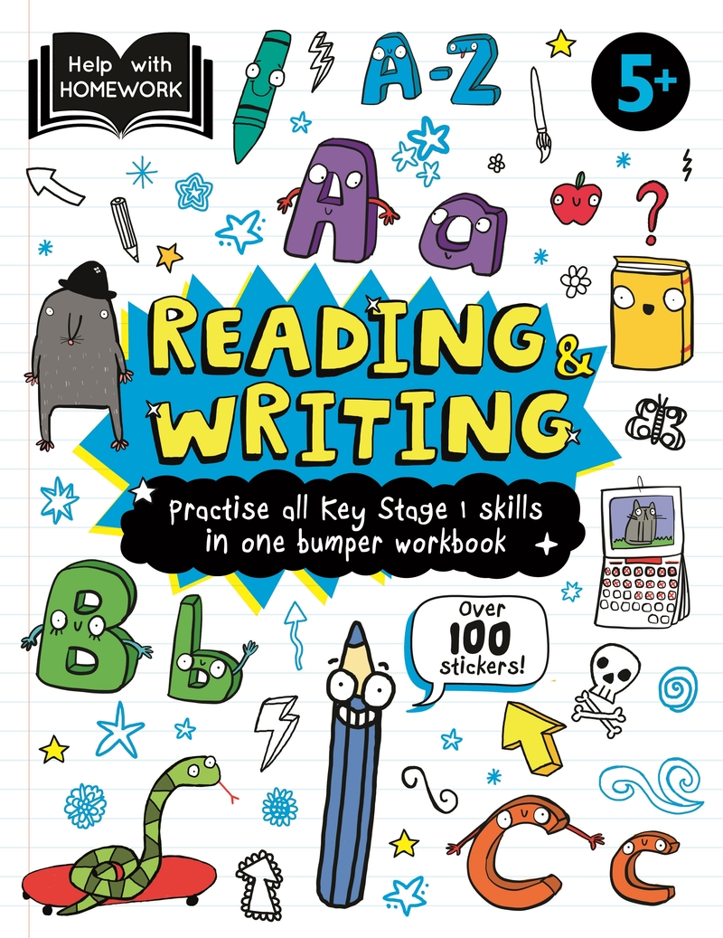 Help With Homework Deluxe: 5+ Reading & Writing: portada