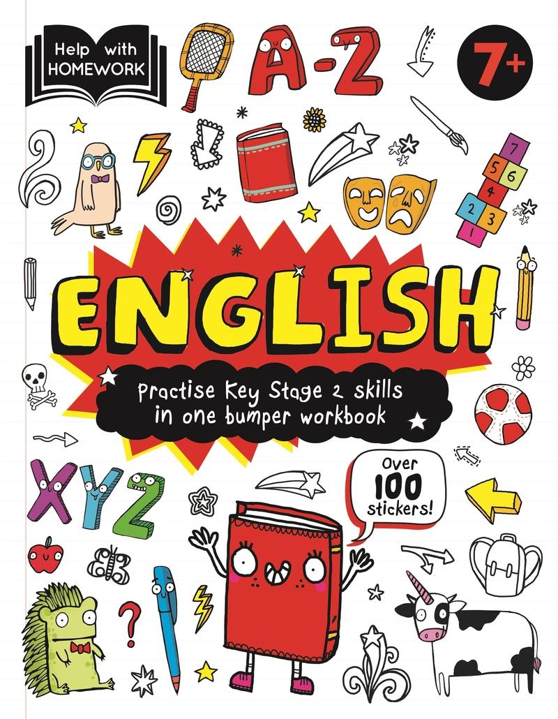 Help With Homework Deluxe: 7+ English: portada