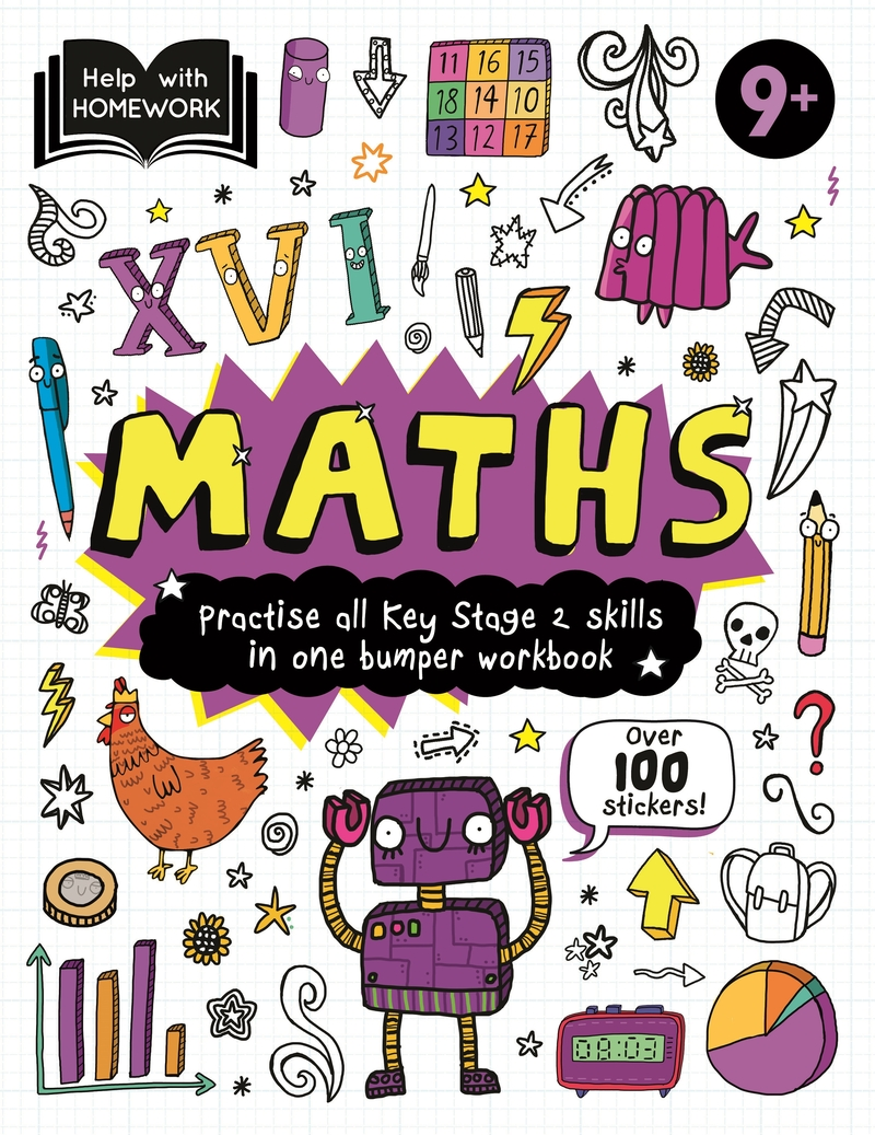 Help With Homework Deluxe: 9+ Maths: portada