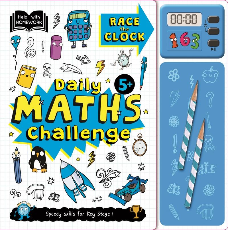 Daily Maths Challenge: portada