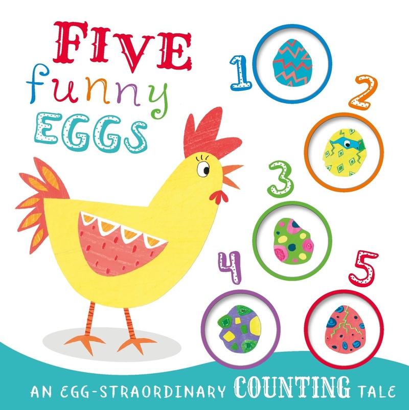 Five Funny Eggs: portada