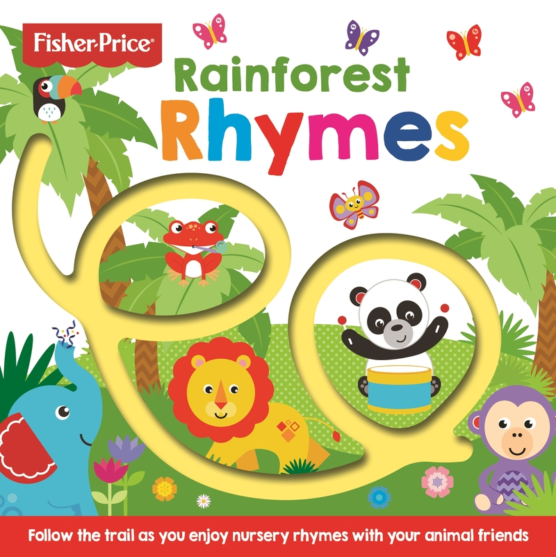 Fisher Price: Rainforest Rhymes: portada