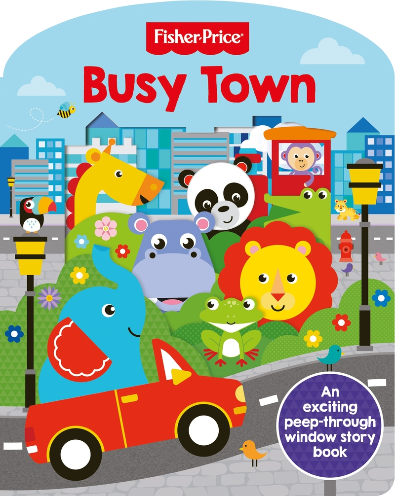 Fisher Price: Busy Town: portada