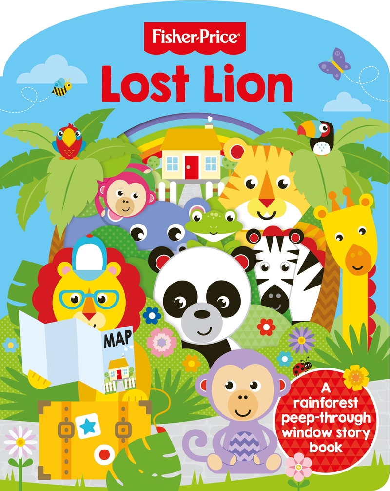 Fisher Price: Lost Lion: portada