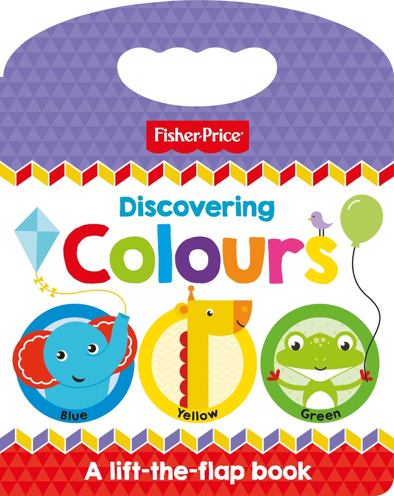 Fisher Price: Discovering Colours: portada