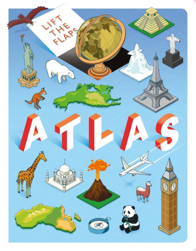 Lift the Flap. Atlas: portada