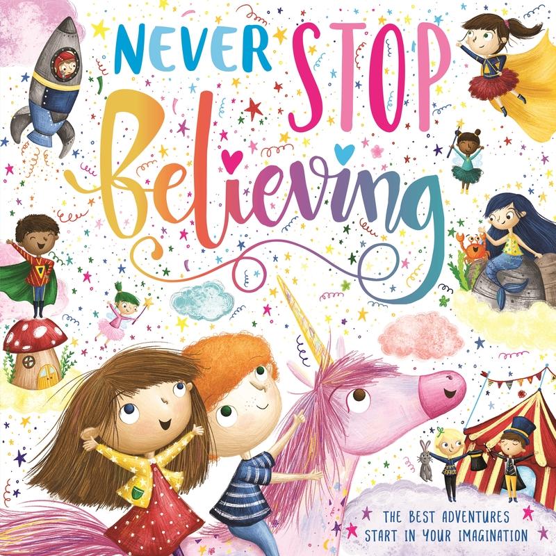 Never Stop Believing: portada