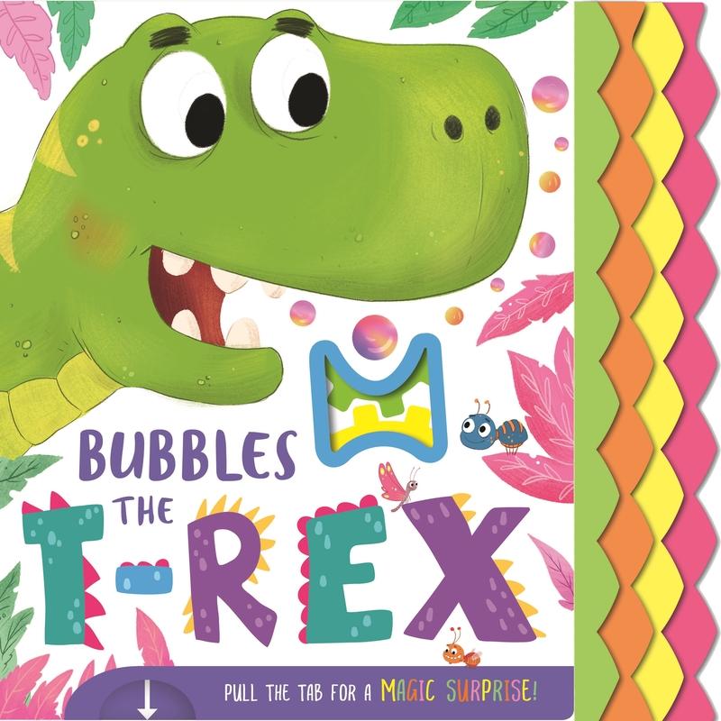 Bubbles The T-Rex (Magic Mechs): portada
