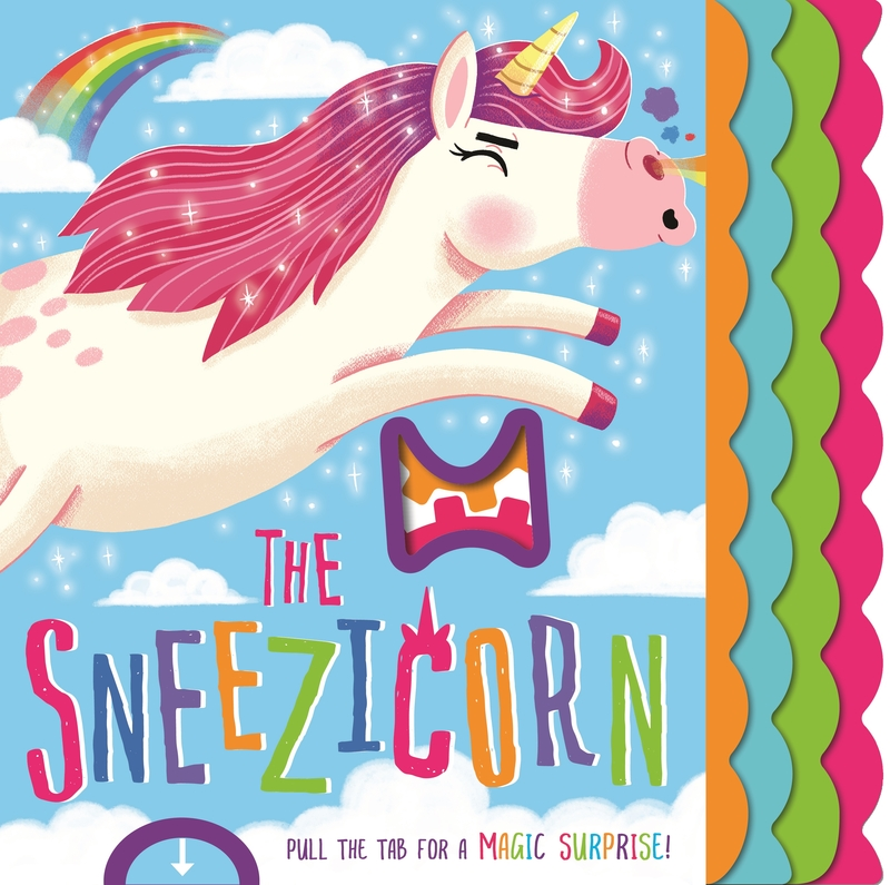 The Sneezicorn (Magic Mechs): portada